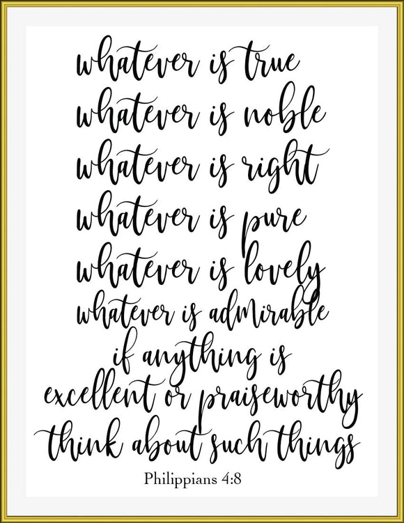 whatever is lovely... think about such things - TiraYoungShop