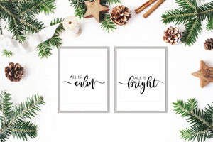 All is Calm, All is Bright - TiraYoungShop