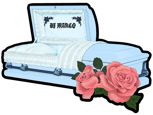 CASKET STICKER