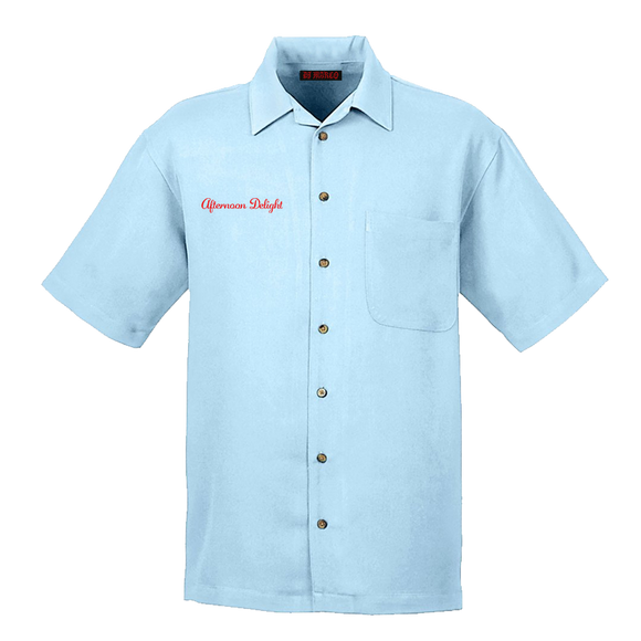 AFTERNOON DELIGHT EMBROIDERED CLUB SHIRT