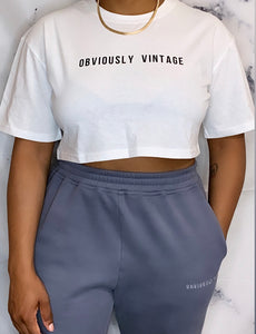 OV Basic Crop Tee