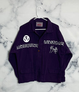 OV Purp Denim Jacket