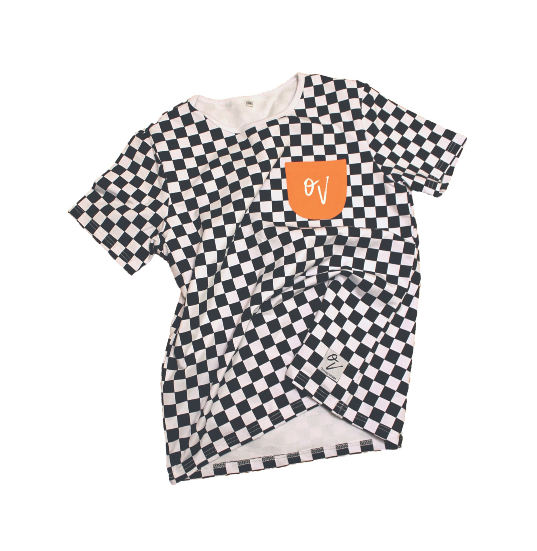 OV Checkered Tee - Heavyweight Tee