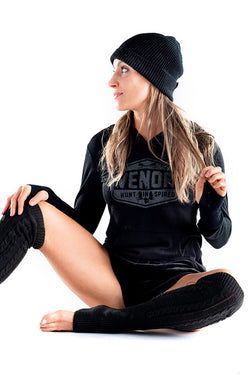 BOB Hoodie (That's Black on Black!) - VENOR