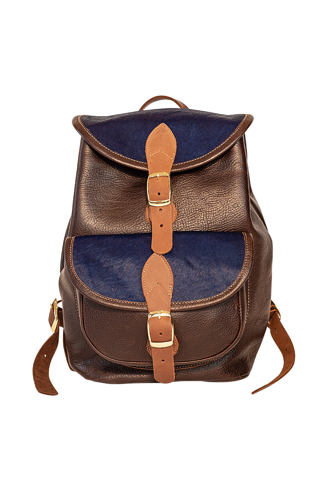 Leather and Hide DayPack - VENOR