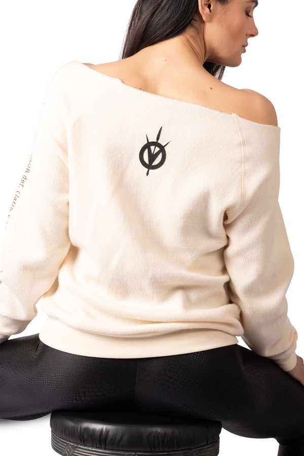 Definition of the Hunt Sweatshirt - Cream