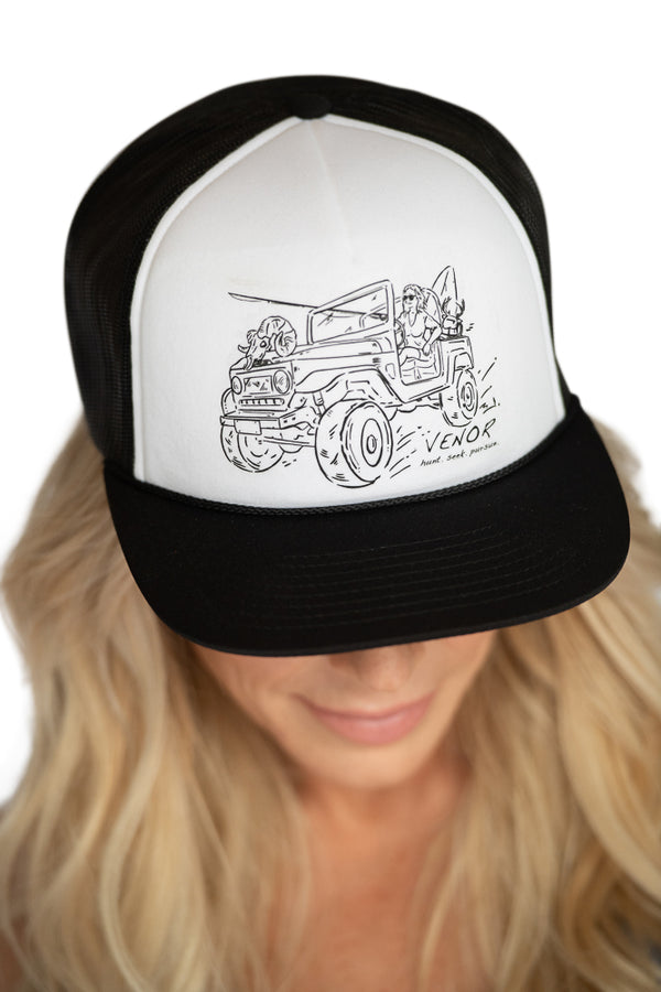 Her Pursuit Trucker Hat