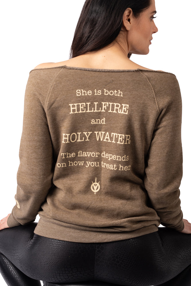 Hellfire and Holywater Sweatshirt
