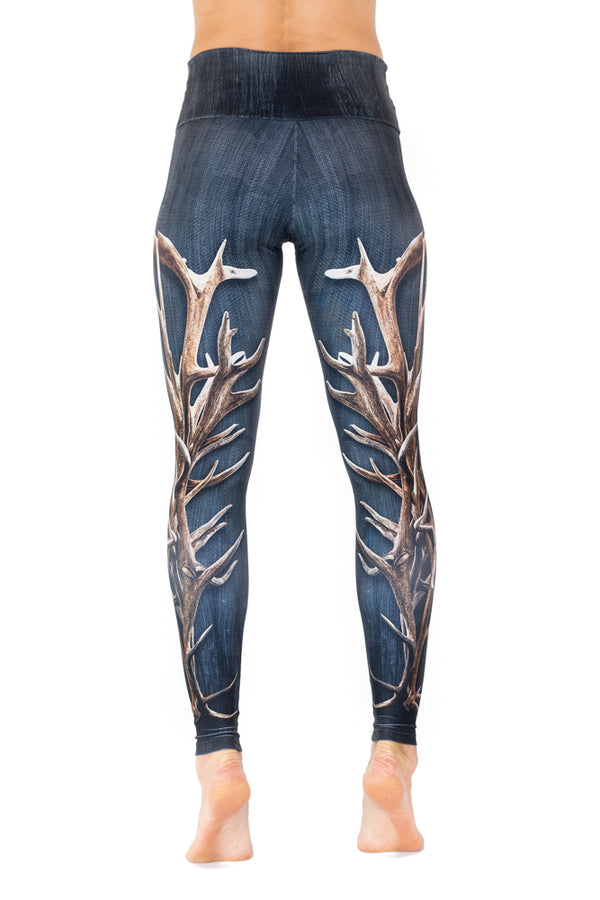 Denim Antler Legging - VENOR