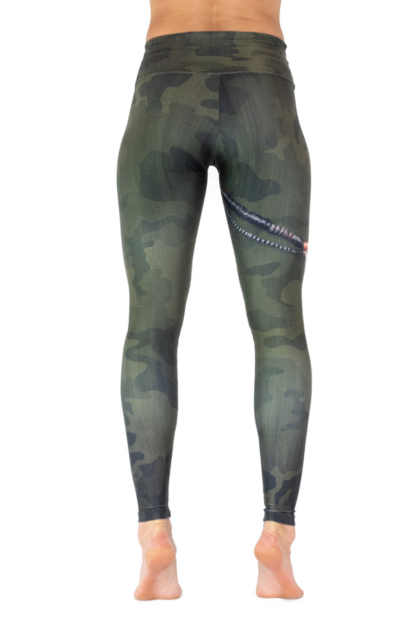 Green Camo Legging - VENOR