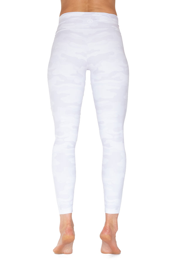 White Camouflage legging - VENOR