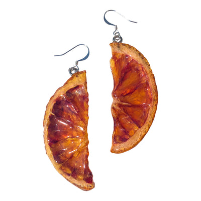 Blood Orange 1/2 Earrings