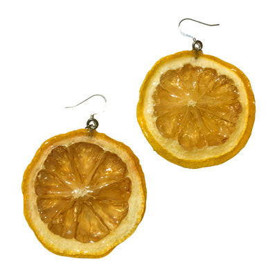 Lemon Earrings Medium