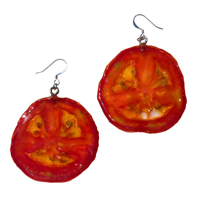 Tomato Earrings Medium