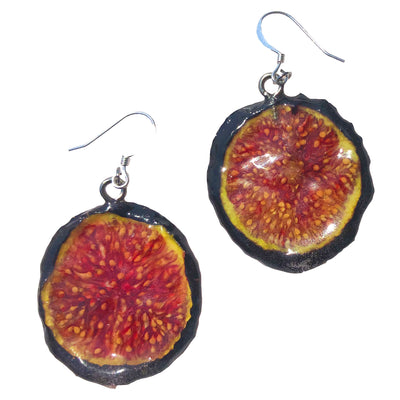 Fig Earrings Small
