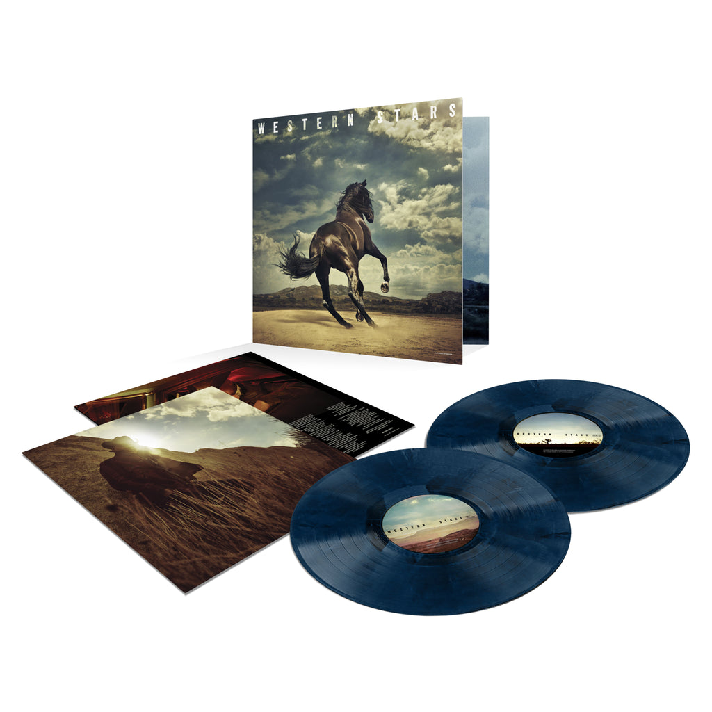 Western Stars Web Exclusive Blue Vinyl