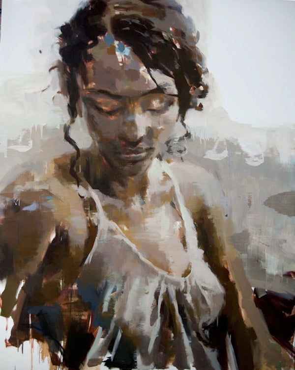 abstract portraits by jerome lagarrigue aphrochic modern soulful