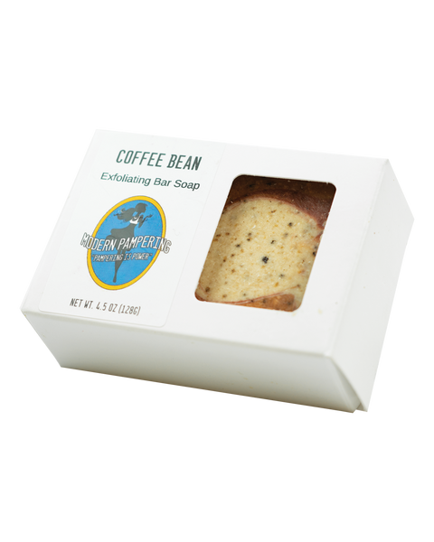 Coffee Bean Exfoliating Handmade Soap - 4.5oz