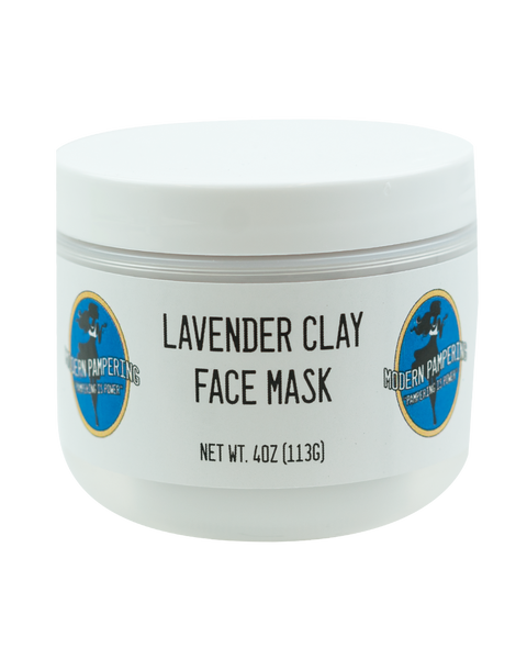 Lavender Clay Face Mask - 4oz
