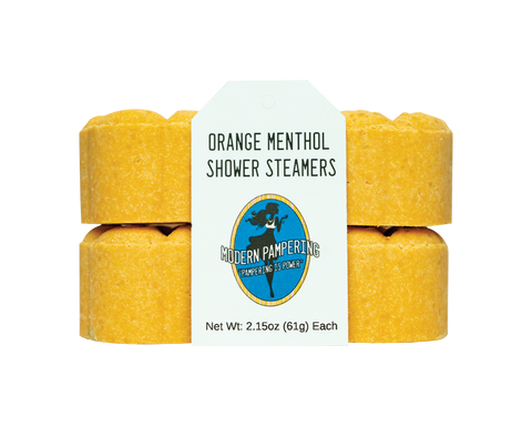Orange Menthol Shower Steamers