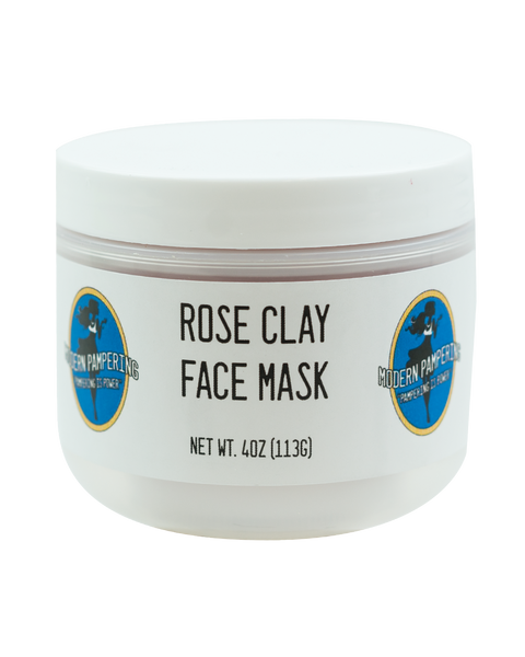 Rose Clay Face Mask - 4oz