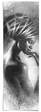 Load image into Gallery viewer, Bookmark - Turban #2