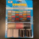 Sewing Threads Set of 37 spools