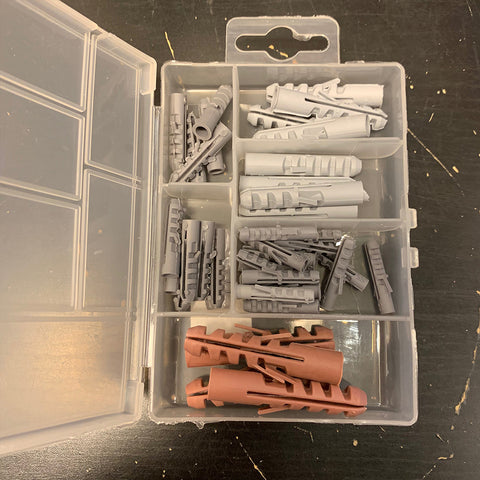 Assorted Wall Plugs Kit