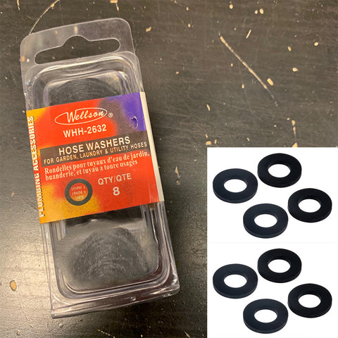Hose Washers 25x15x3mm 8 PK