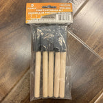 Foam Paintbrush Set 5PK