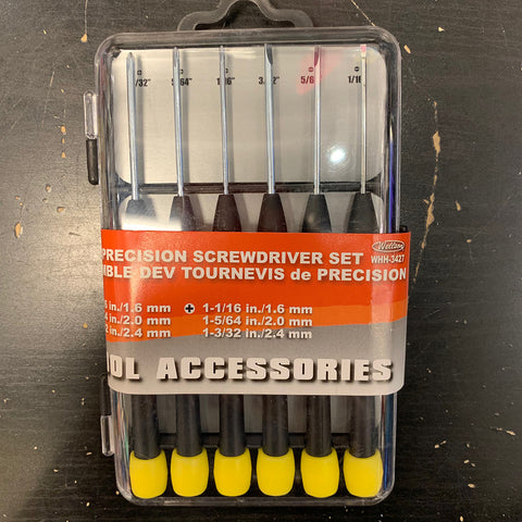 Precision Screwdriver Set 6PK