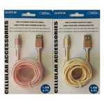 6FT USB TO IPHONE5/6/7/8/X ROUND CABLE