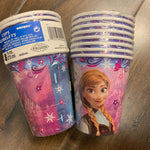 Paper Cup 9 oz Branded Frozen 8 PK