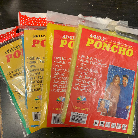 Poncho one size fit all