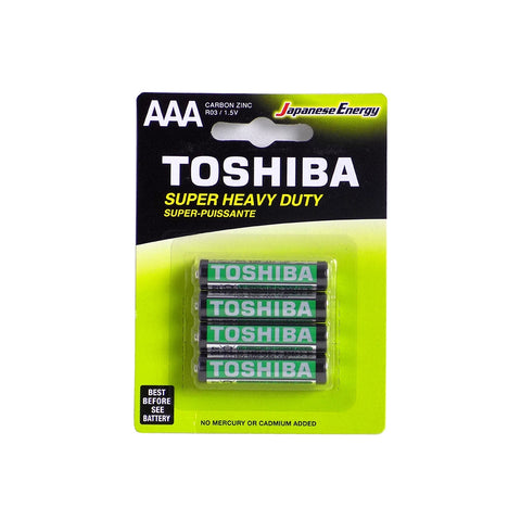 TOSHIBA Heavy Duty Batteries