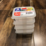 Mini Storage Container w/Lid 4PK
