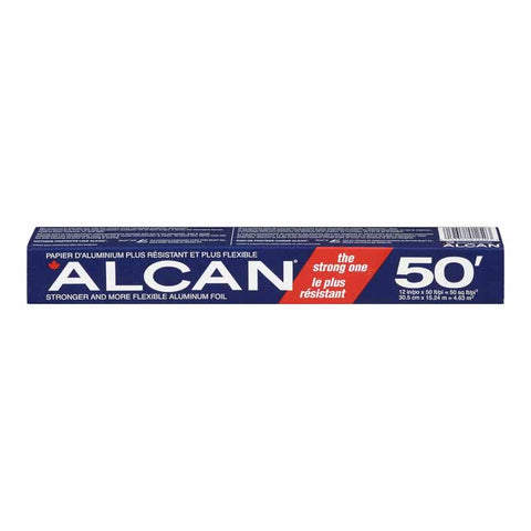 "ALCAN Aluminum Foil 300 mm x 15.24 m / 11.8"" x 50ft"