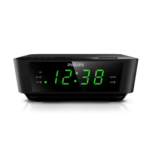 Philips Digital Tuning Clock Radio AJ3116M Refurbished