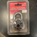 Brass Lock Combination Padlock 50mm