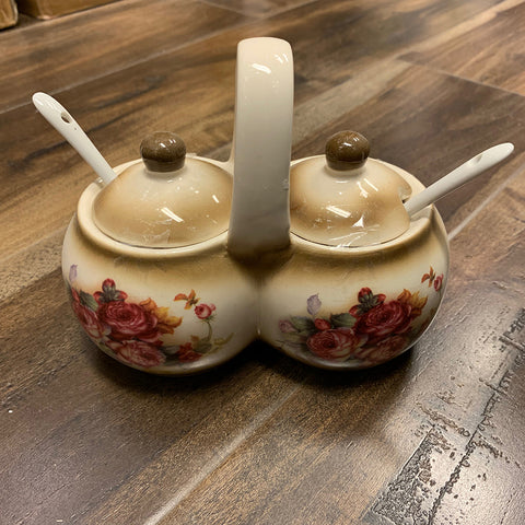 Ceramic Sugar Salt Container