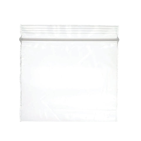 Zip Clear Bags 6x6