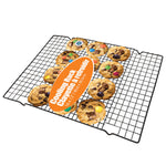 BLACK COATED X-LARGE COOLING RACK 16X12""