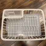 DISH RACK WITH TRAY 15 3/4 x 11.5""