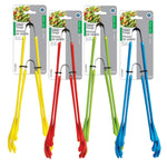 PLASTIC SALAD TONGS 9IN + 12IN