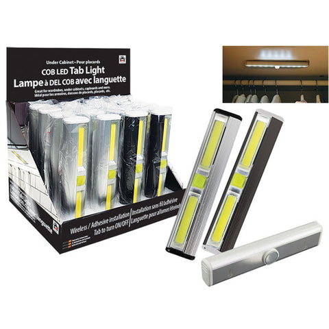 COB LED TAB LIGHT W/ MAGNET AT BOTTOM