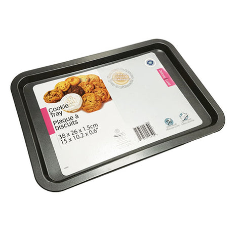 NON-STICK BAKING TRAY 15X10.5X0.75IN