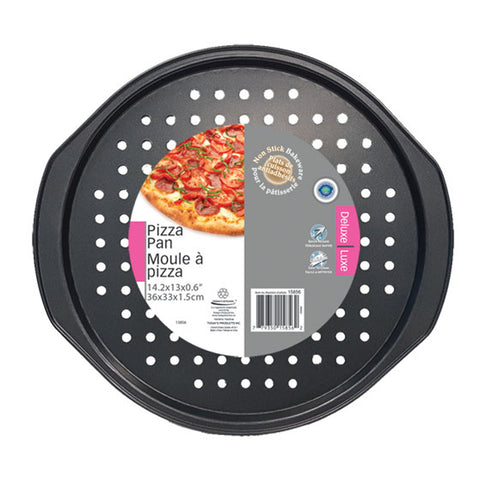 NON-STICK PIZZA PAN 14.25X13X0.6IN