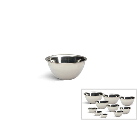 STAINLESS STEEL MIXING BOWL - 7""