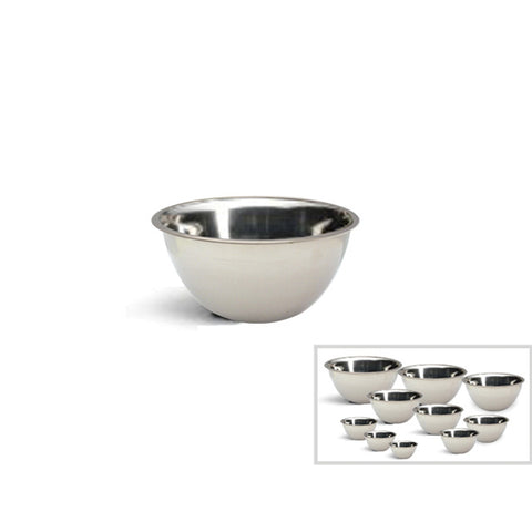 STAINLESS STEEL MIXING BOWL - 8.75""