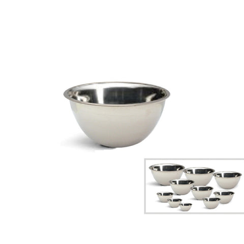 STAINLESS STEEL MIXING BOWL - 9.5""